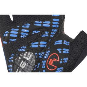 Roeckl Idegawa Handschuhe schwarz/fiesta rot
